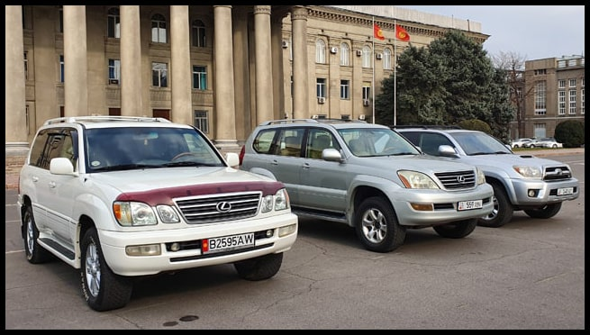 All cars for rent in Kyrgyzstan